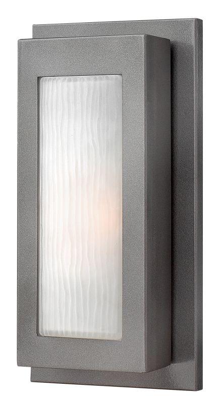 Hinkley Lighting 2050HE-GU24 Hematite Contemporary Titan Wall Sconce