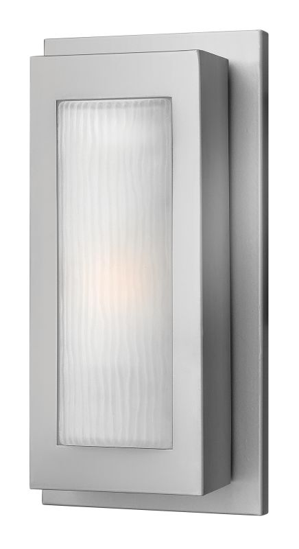 Hinkley Lighting 2050TT-GU24 Titanium Contemporary Titan Wall Sconce