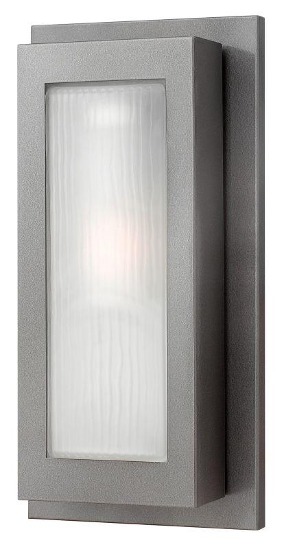 Hinkley Lighting 2054HE-GU24 Hematite Contemporary Titan Wall Sconce