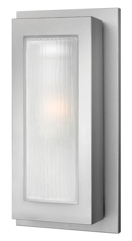 Hinkley Lighting 2054TT-GU24 Titanium Contemporary Titan Wall Sconce