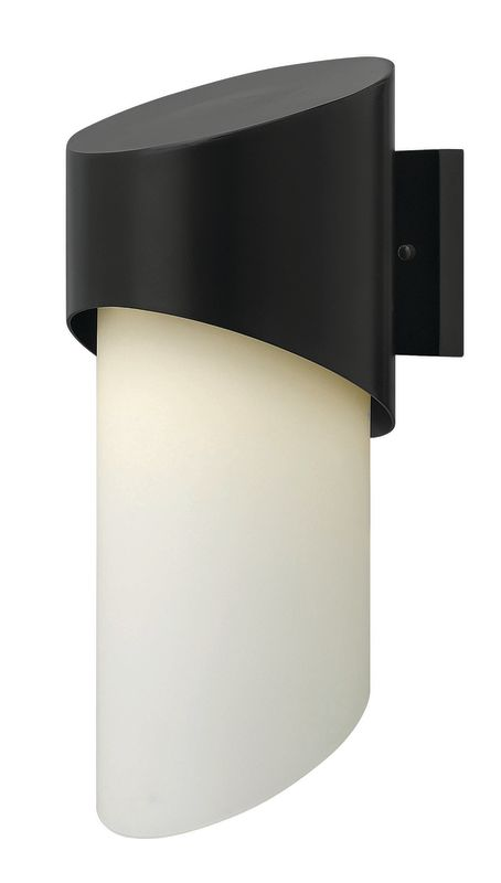 Hinkley Lighting 2064SK Satin Black Contemporary Solo Wall Sconce