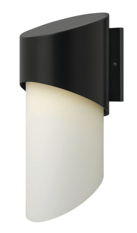 Hinkley Lighting 2065SK Satin Black Contemporary Solo Wall Sconce