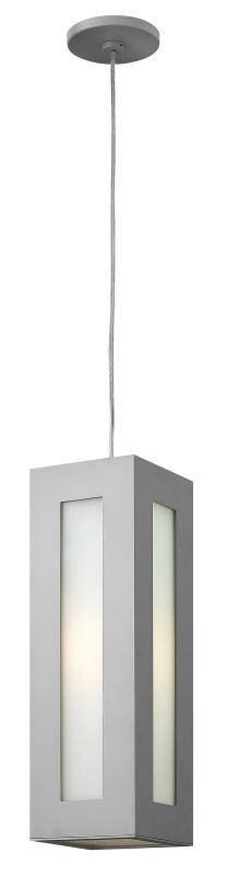 Hinkley Lighting 2192 1 Light Outdoor Small Pendant from the Dorian