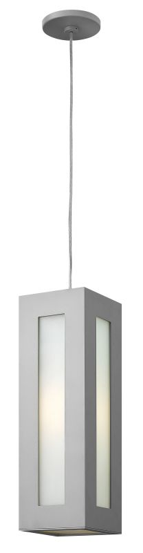 Hinkley Lighting 2192-GU24 1 Light Outdoor Small Pendant with