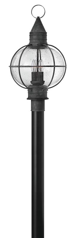 Hinkley Lighting 2201-LED 1 Light LED Post Light from the Cape Cod Sale $499.00 ITEM: bci2635112 ID#:2201DZ-LED UPC: 640665220131 :