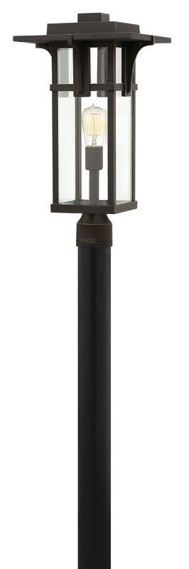 Hinkley Lighting 2321 1 Light Post Light from the Manhattan Collection