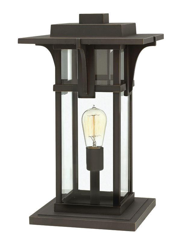 Hinkley Lighting 2327 1 Light Pier Mount Light from the Manhattan Sale $269.00 ITEM: bci2362025 ID#:2327OZ UPC: 640665232707 :