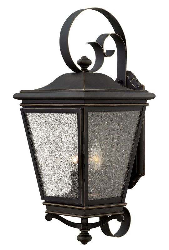 Hinkley Lighting 2468 3 Light Outdoor Lantern Wall Sconce from the