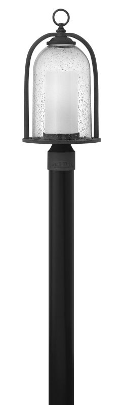 Hinkley Lighting 2611-LED 1 Light LED Outdoor Post Light with Clear
