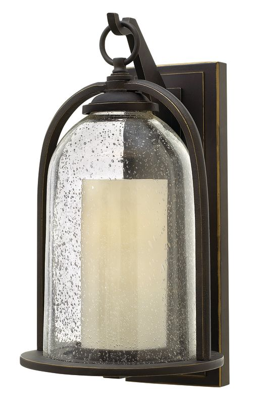 "Hinkley Lighting 2615-LED 1 Light 16.75"" Wide LED Lantern Candle Wall"