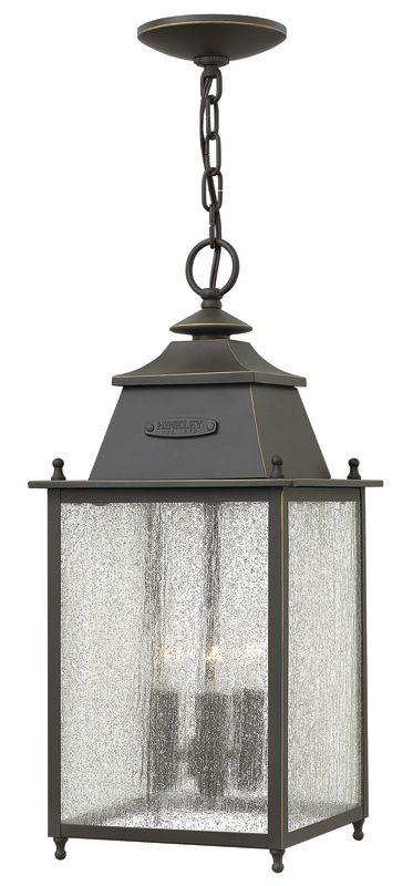 Hinkley Lighting 2782 3 Light Outdoor Lantern Pendant from the