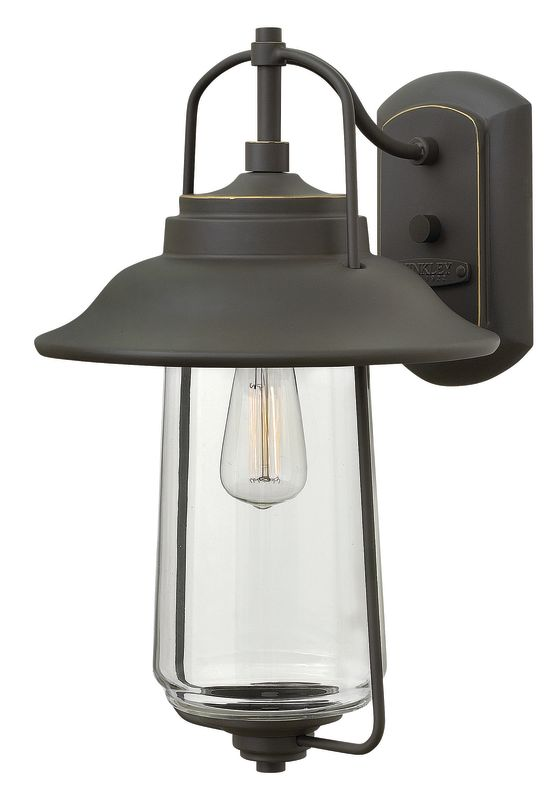 "Hinkley Lighting 2864 16"" Height 1 Light Lantern Outdoor Wall Sconce"