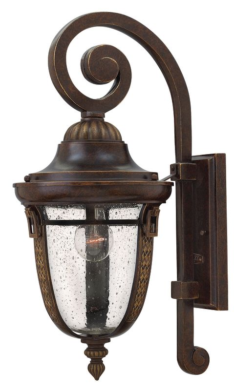"Hinkley Lighting 2904 1 Light 21"" Height Outdoor Lantern Wall Sconce"