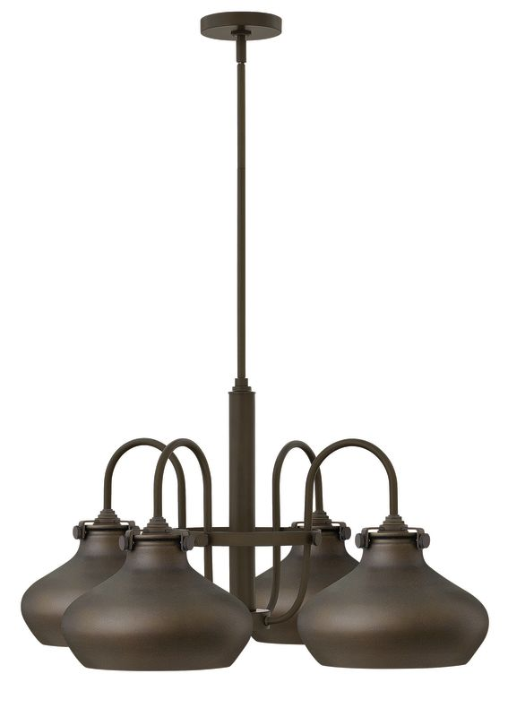 Hinkley Lighting 3048 Congress 4 Light 1 Tier Chandelier Oil Rubbed Sale $689.00 ITEM: bci2362111 ID#:3048OZ UPC: 640665304831 :