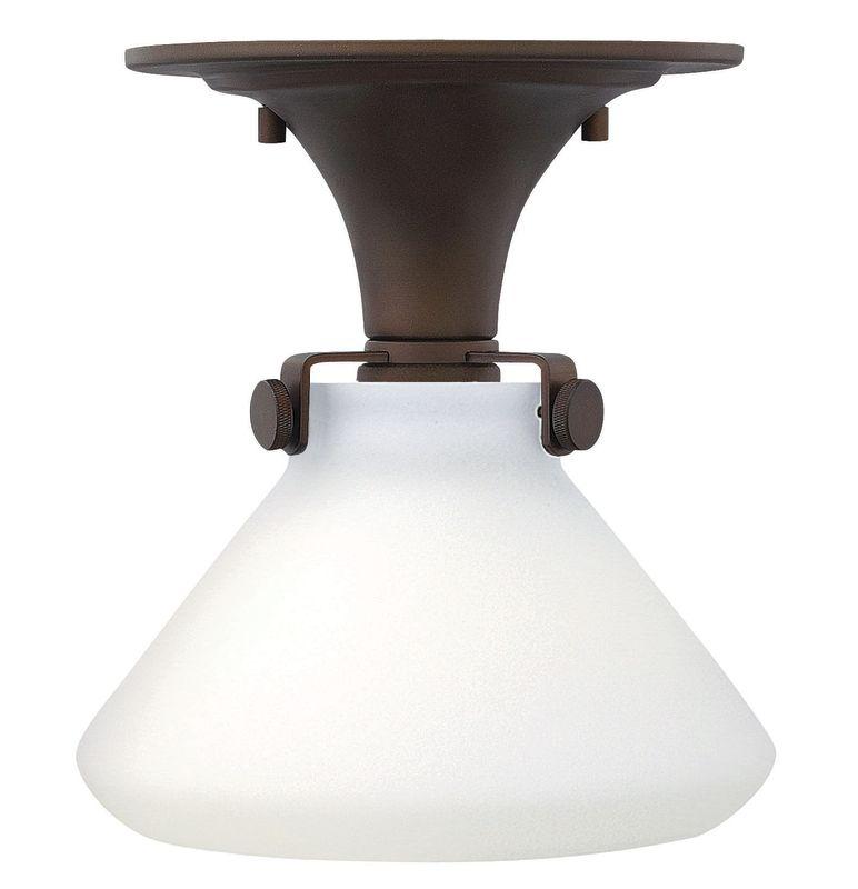 Hinkley Lighting 3140-LED 1 Light LED Semi-Flush Ceiling Fixture with