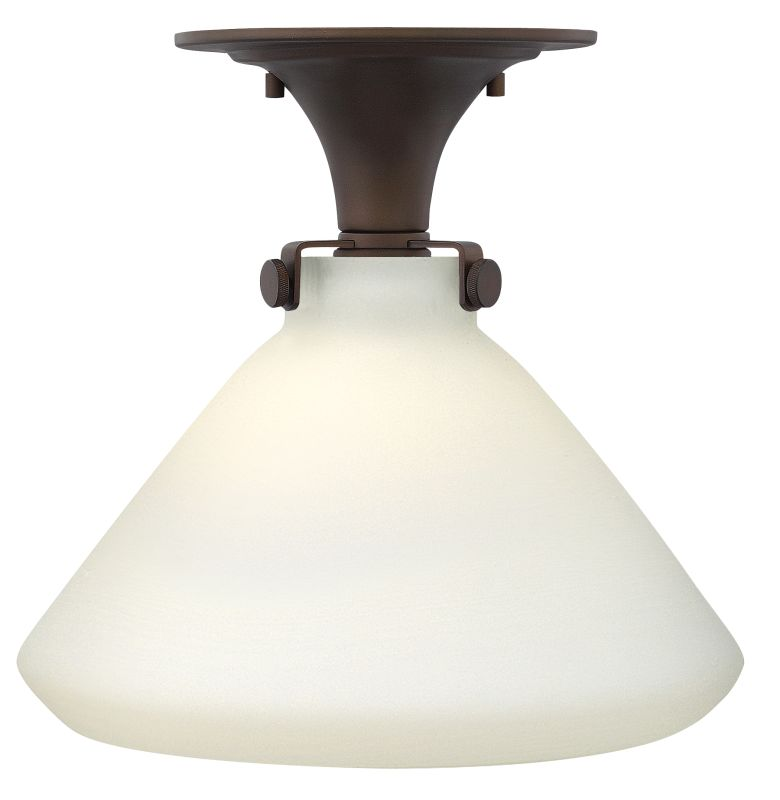 Hinkley 3141OZ Oil Rubbed Bronze Industrial Congress Ceiling Light