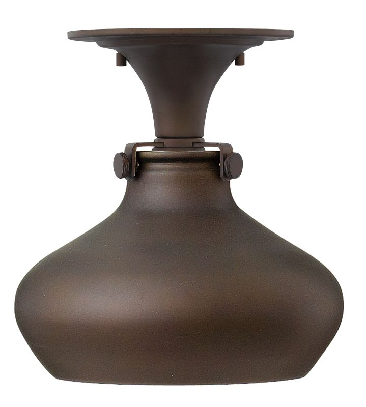Hinkley 3148OZ Oil Rubbed Bronze Industrial Congress Ceiling Light