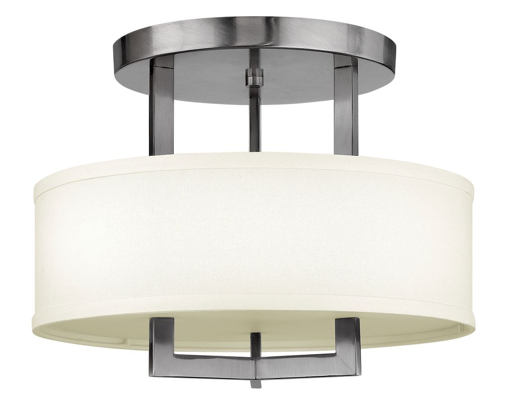 Hinkley 3200AN-LED Antique Nickel Contemporary Hampton Ceiling Light