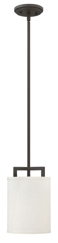 "Hinkley Lighting 3207 1 Light 7"" Width Mini Pendant from the Hampton"