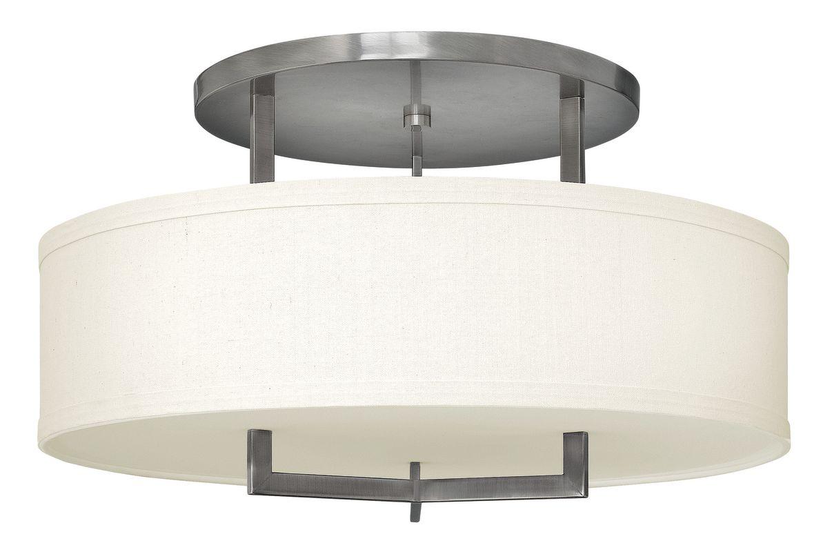Hinkley Lighting 3211-GU24 3 Light Title 24 Fluorescent Semi-Flush Sale $689.00 ITEM: bci2635764 ID#:3211AN-GU24 UPC: 640665321142 :