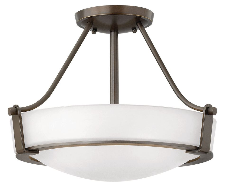 Hinkley Lighting 3220-GU24 3 Light Title 24 Fluorescent Semi-Flush Sale $309.00 ITEM: bci2635787 ID#:3220OB-WH-GU24 UPC: 640665322095 :