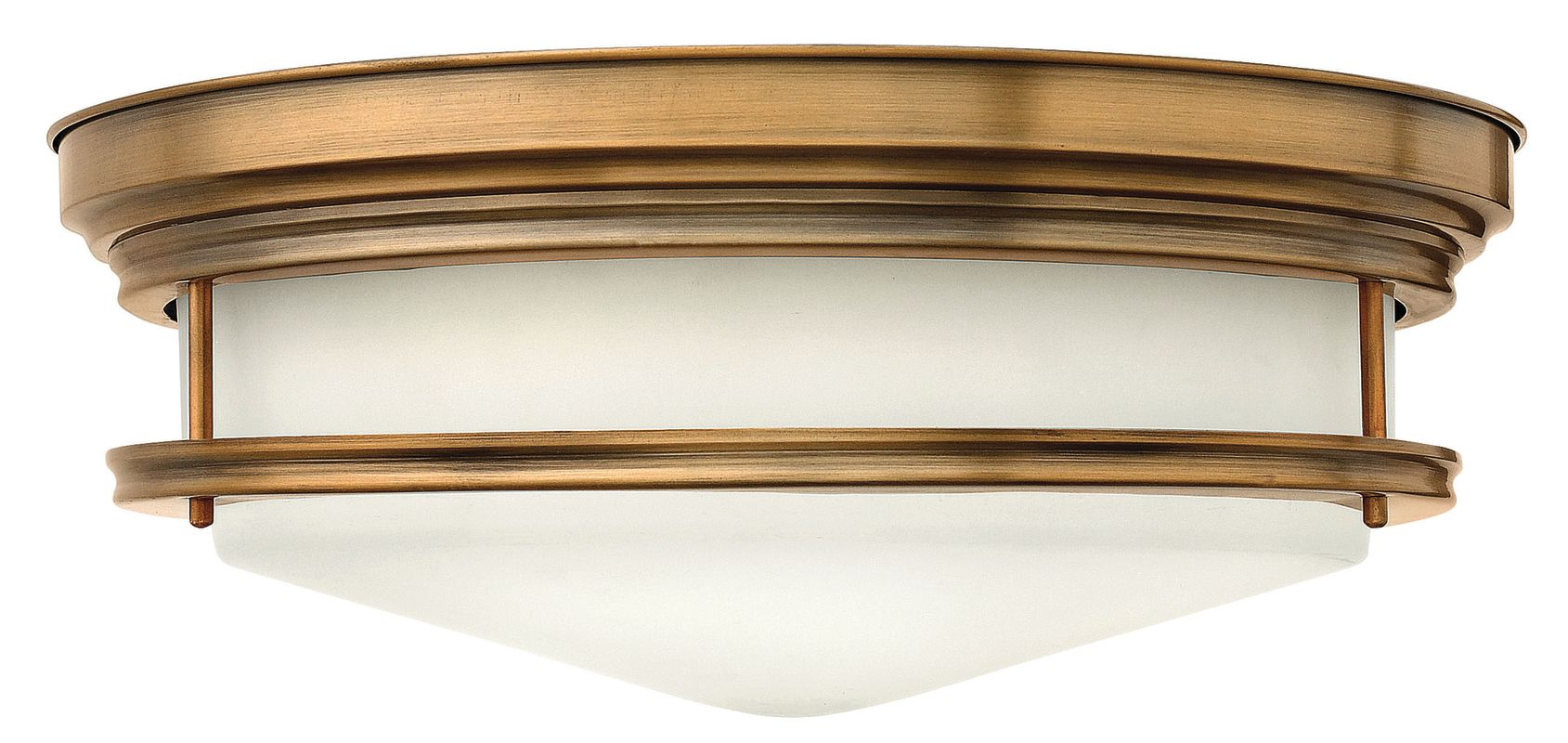 Hinkley Lighting 3304-GU24 4 Light Title 24 Fluorescent Flush Mount