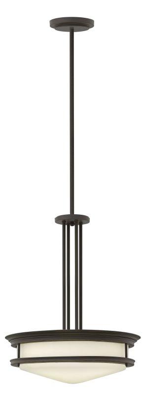Hinkley Lighting 3305-LED 1 Light LED Indoor Bowl Shaped Pendant from
