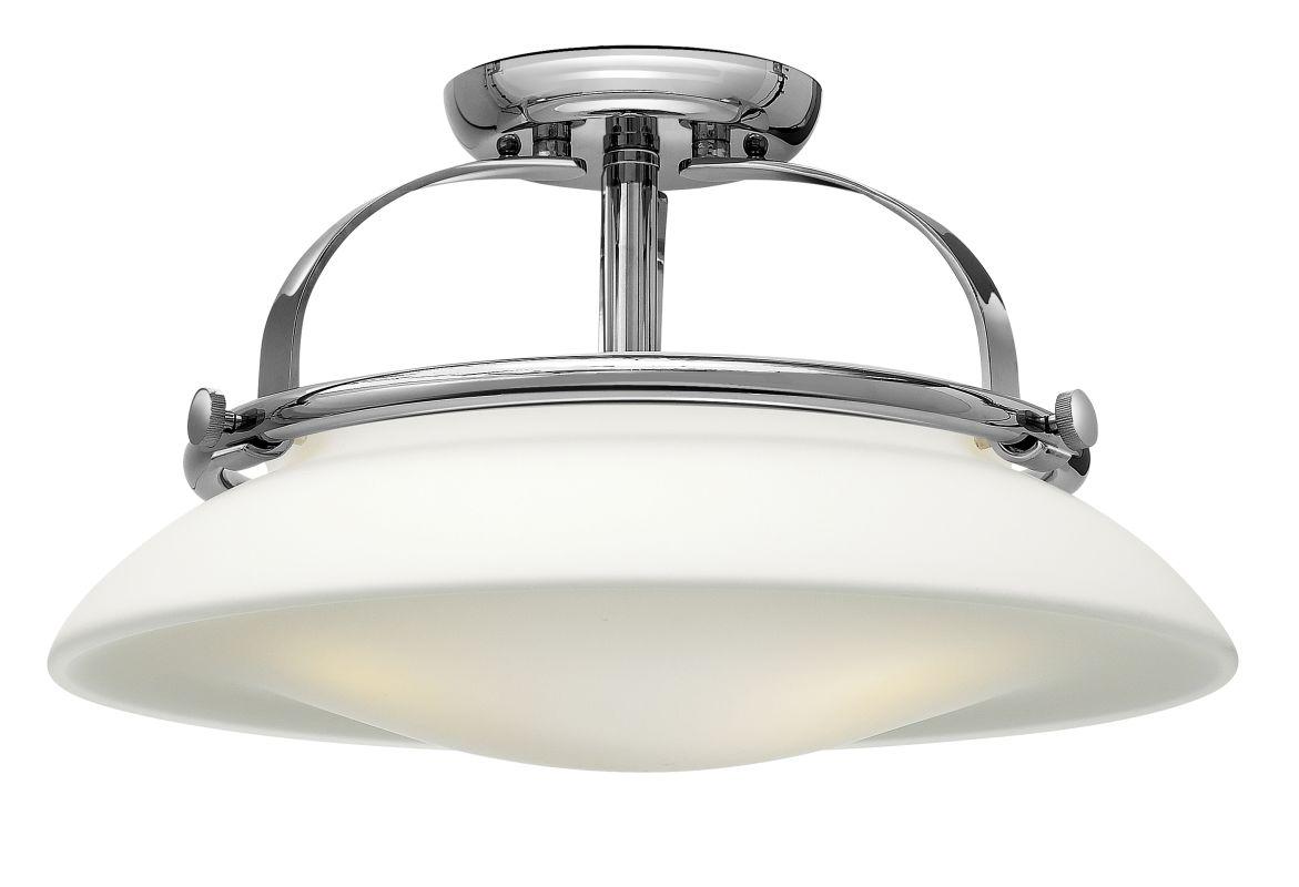 Hinkley Lighting 3321 3 Light Indoor Semi-Flush Ceiling Fixture from