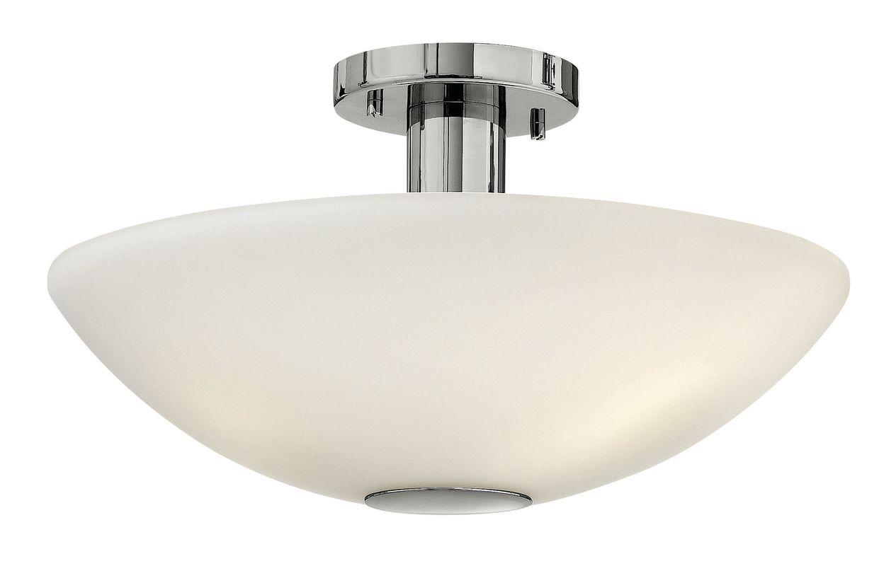 """Hinkley Lighting 3341-LED 1 Light 16"""" Width LED Semi-Flush Ceiling"""
