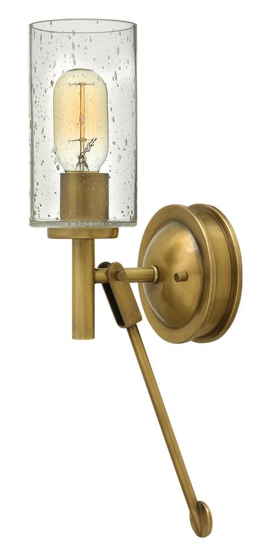 Hinkley Lighting 3380 1 Light Wall Sconce from the Collier Collection