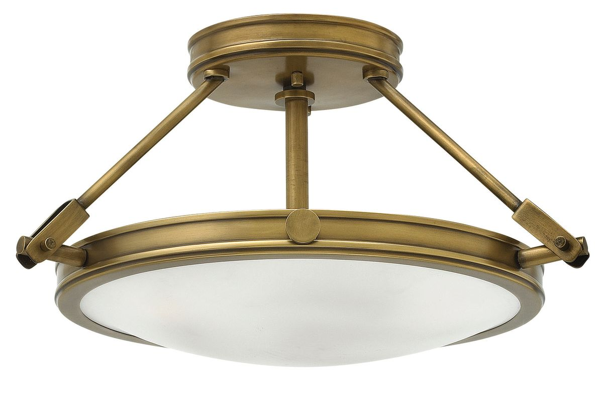 Hinkley Lighting 3381 3 Light Semi-Flush Ceiling Fixture from the