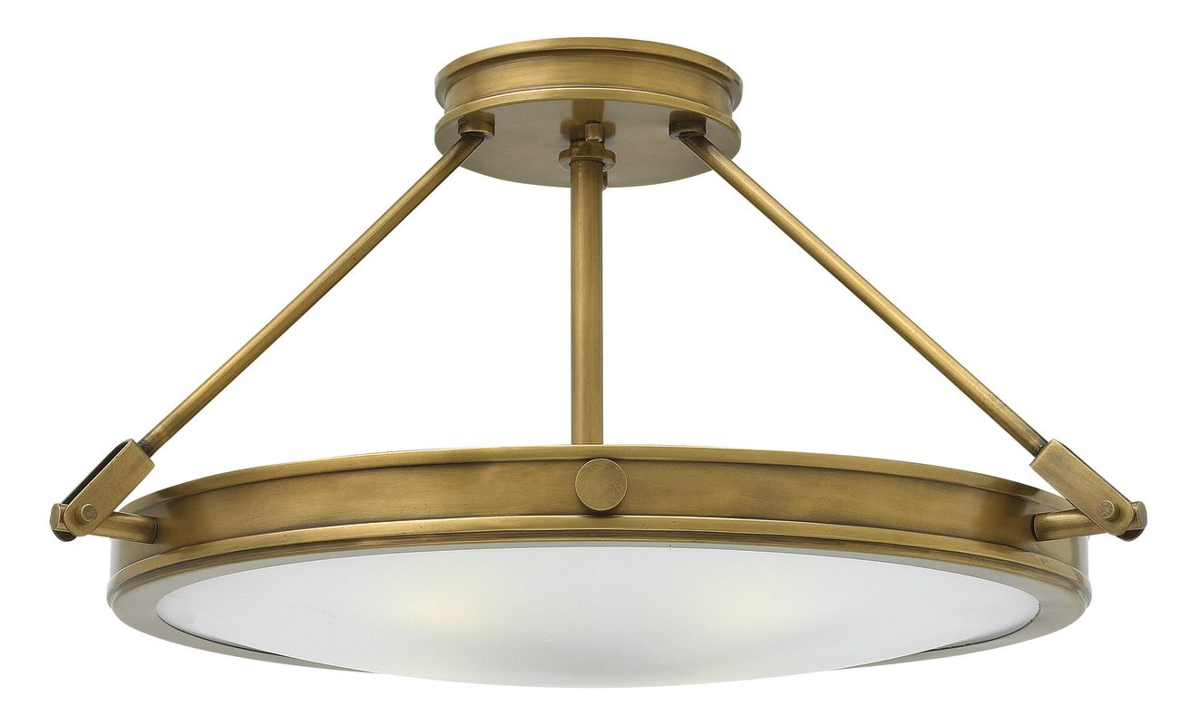 Hinkley Lighting 3382 4 Light Semi-Flush Ceiling Fixture from the