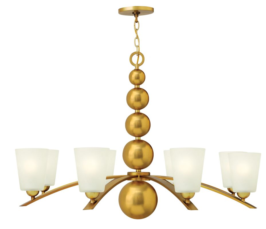 Hinkley Lighting 3448-LQ SALE - Zelda 8 Light 1 Tier Chandelier Sale $246.00 ITEM: bci2607293 ID#:3448VS UPC: 640665344813 :