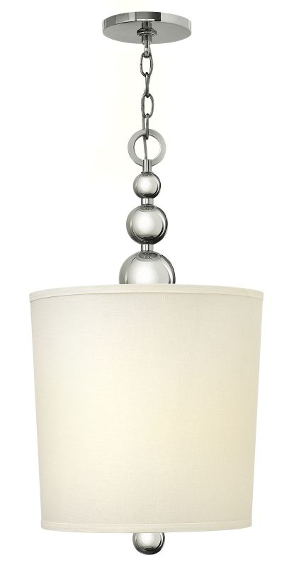 Hinkley Lighting 3449 4 Light Indoor Drum Pendant from the Zelda