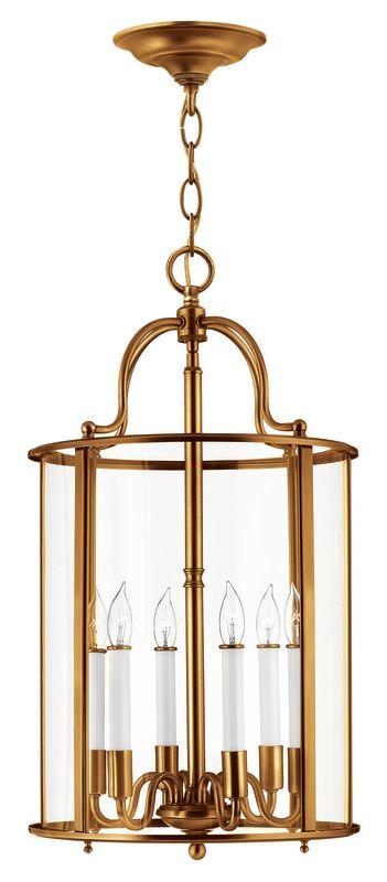 Hinkley Lighting 3478 6 Light Full Sized Foyer Pendant from the Gentry