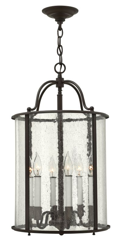 Hinkley Lighting 3478 6 Light Full Sized Foyer Pendant from the Gentry Sale $599.00 ITEM: bci2233938 ID#:3478OB UPC: 640665347807 :