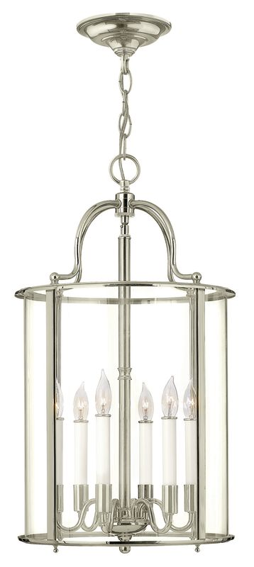 Hinkley Lighting 3478 6 Light Full Sized Foyer Pendant from the Gentry Sale $749.00 ITEM: bci2635306 ID#:3478PN UPC: 640665347838 :