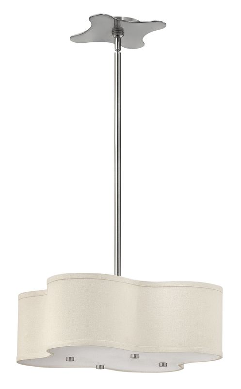 Hinkley Lighting 3804-LED 1 Light LED Full Sized Pendant from the