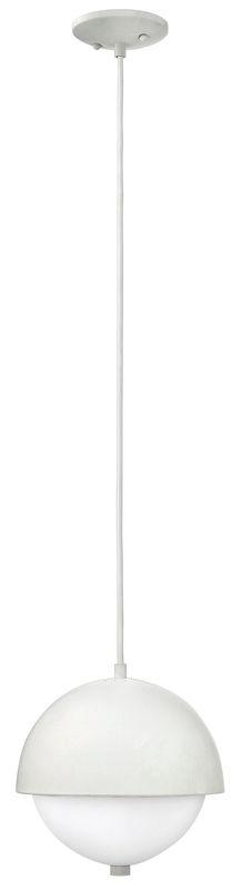 Hinkley Lighting 38510-GU24 2 Light Single Mini Pendant with White Sale $219.00 ITEM: bci2635338 ID#:38510CLD-GU24 UPC: 640665385151 :