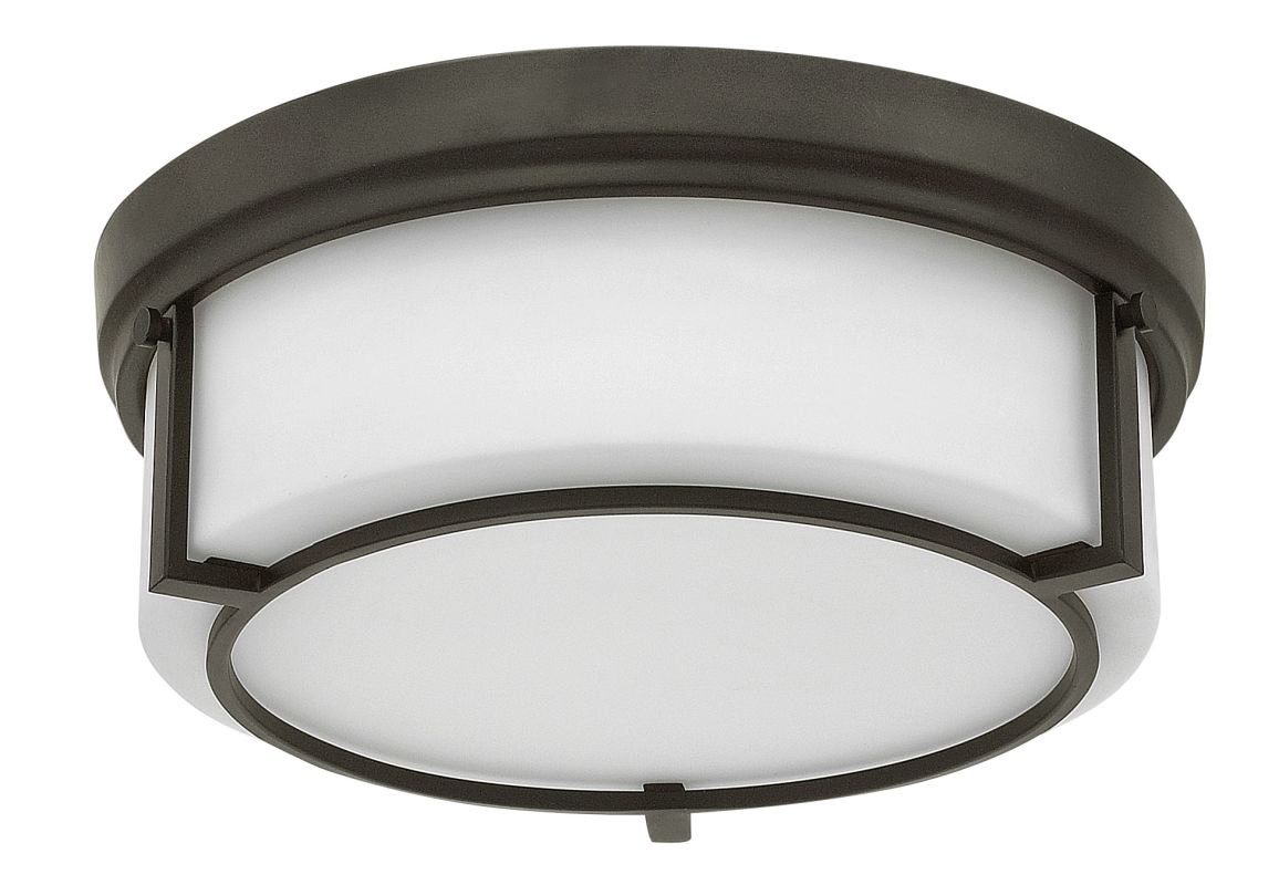 Hinkley Lighting 3972 3 Light Flush Mount Ceiling Fixture with Frosted