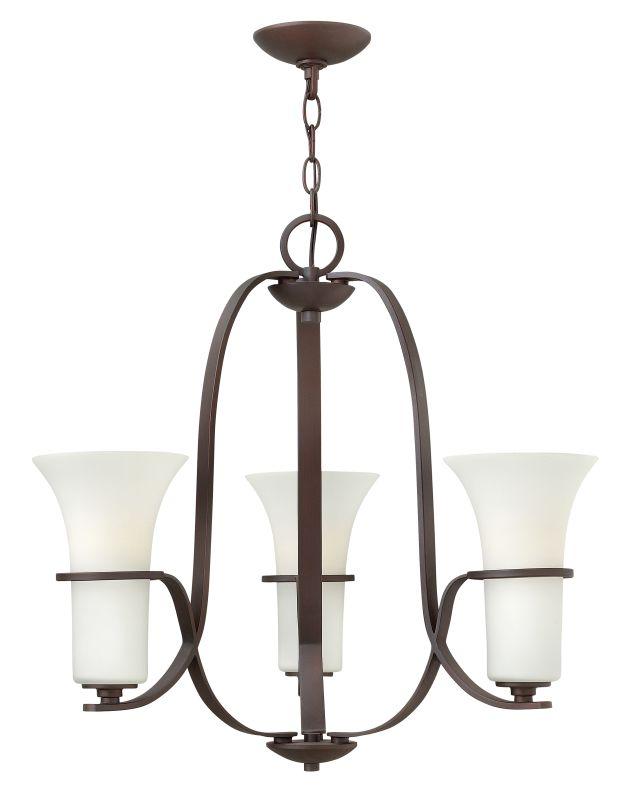 Hinkley Lighting 4063 Lauren 3 Light 1 Tier Chandelier Victorian Sale $123.00 ITEM: bci2173191 ID#:4063VZ UPC: 640665406306 :