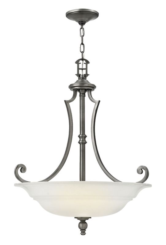 Hinkley Lighting 4244 3 Light Large Foyer Pendant from the Plymouth Sale $499.00 ITEM: bci2635373 ID#:4244PL UPC: 640665424416 :