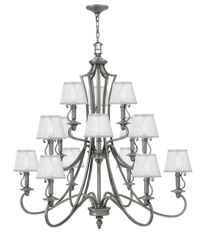 Hinkley Lighting 4249 15 Light 3 Tier Candle Style Chandelier from the Sale $1859.00 ITEM: bci2635378 ID#:4249PL UPC: 640665424911 :