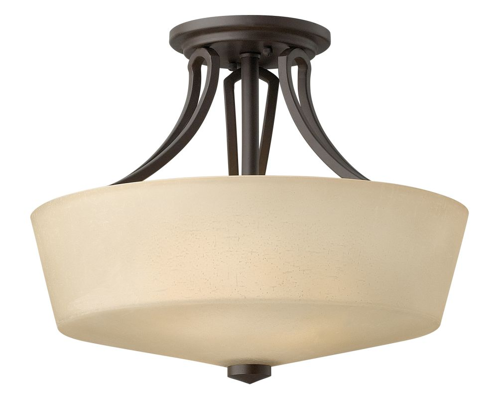 Hinkley Lighting 4431 2 Light Indoor Semi-Flush Ceiling Fixture from