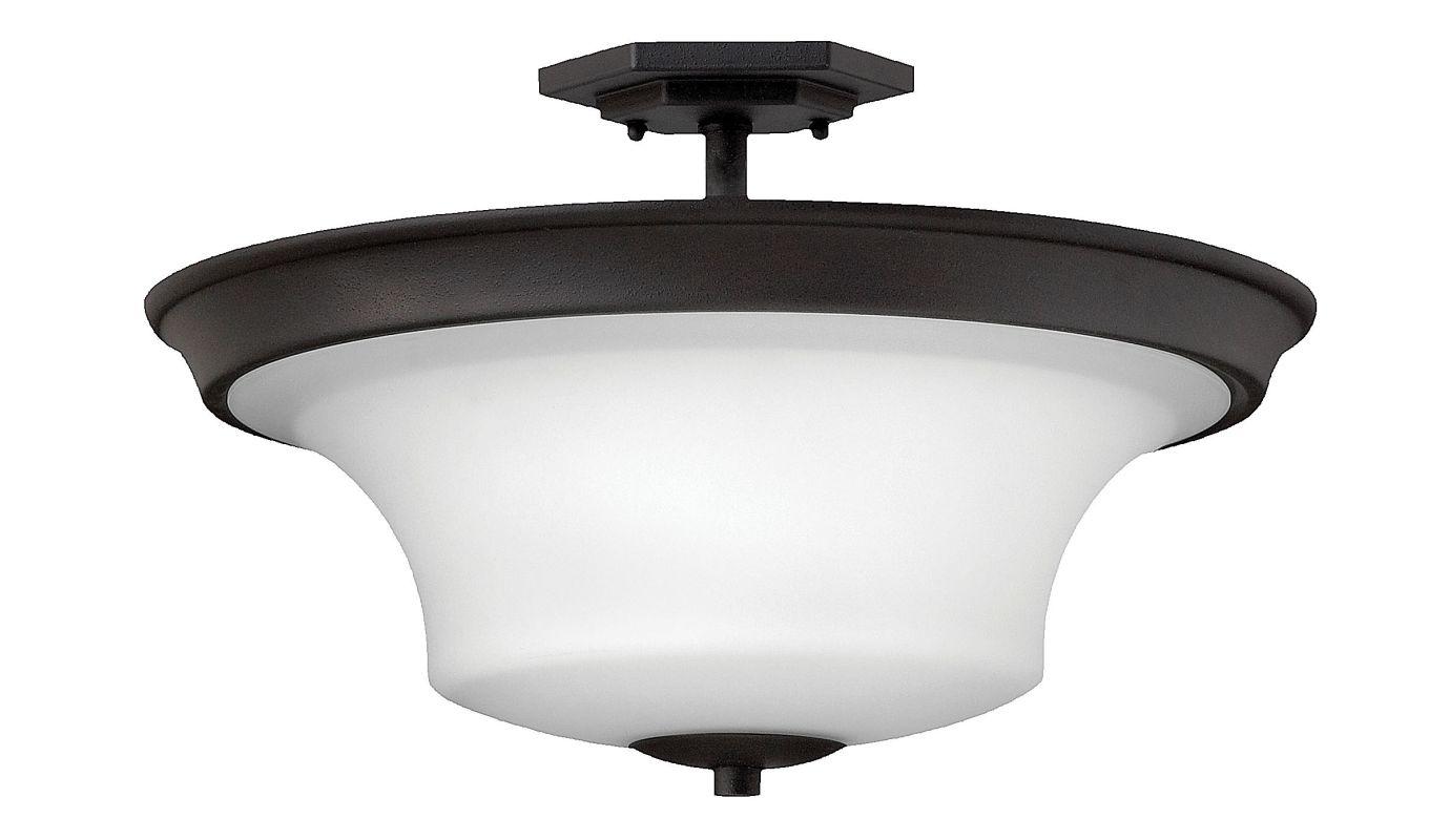 Hinkley Lighting 4632-LED 1 Light LED Semi-Flush Ceiling Fixture from