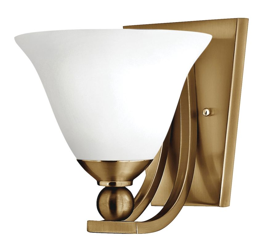 Hinkley Lighting 4650 1 Light Wall Sconce from the Bolla Collection Sale $99.00 ITEM: bci2736650 ID#:4650BR-OP UPC: 640665465570 :