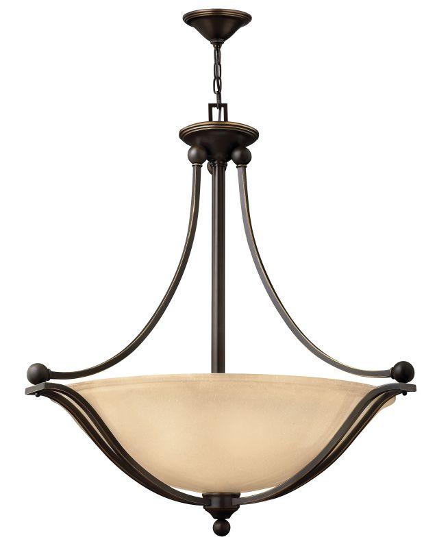 Hinkley Lighting 4664-LED 1 Light LED Indoor Bowl Shaped Pendant from