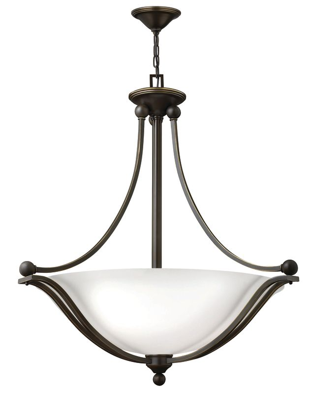Hinkley Lighting 4664-OPAL 4 Light Indoor Bowl Shaped Pendant with Sale $629.00 ITEM: bci2362189 ID#:4664OB-OPAL UPC: 640665466461 :