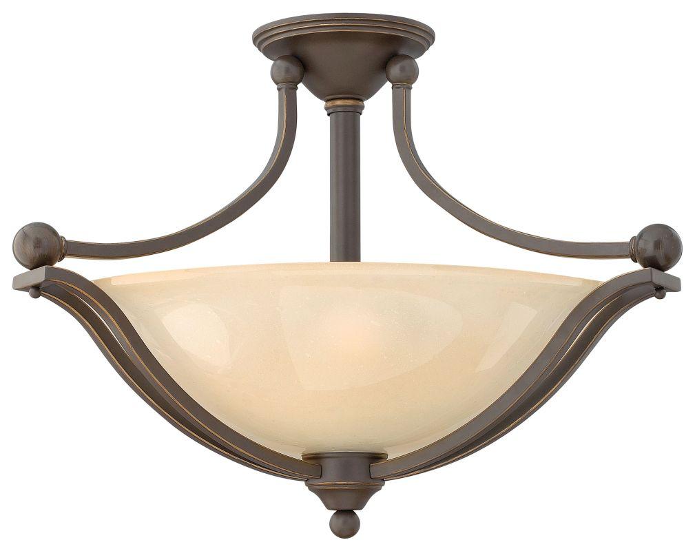 Hinkley Lighting 4669-LED 1 Light LED Semi-Flush Ceiling Fixture from