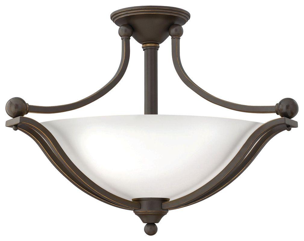 Hinkley Lighting 4669-OP-LED 1 Light LED Indoor Semi-Flush Ceiling